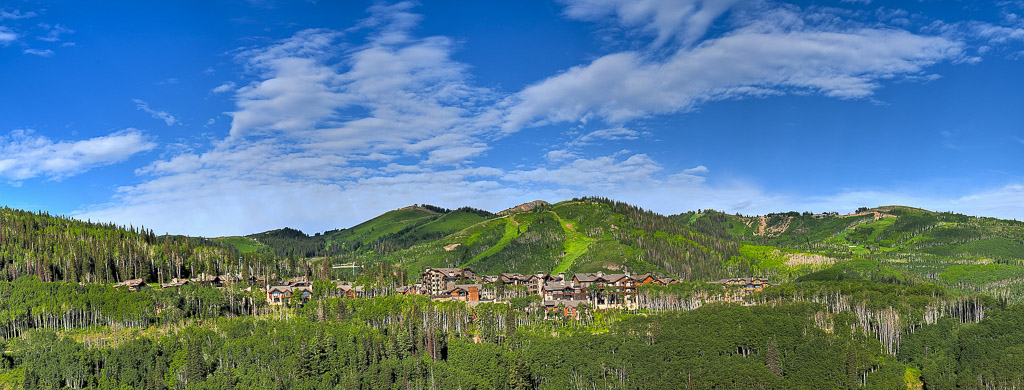 Summer Scenic View of Park City credit: Park City Chamber/Bureau