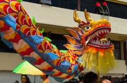 Video: Chingay Johor Bahru The Prelude Procession
