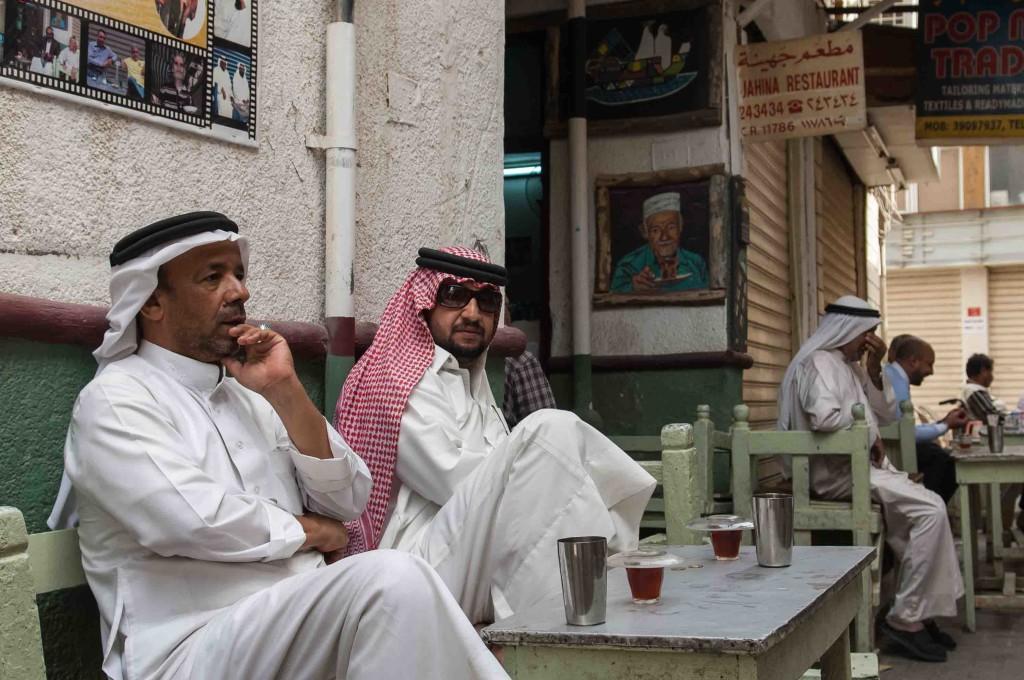 Locals in Bahrain at Johaina Restaurant