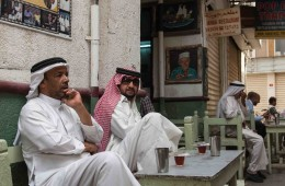 Photo Of The Week – Locals at Johaina Restaurant in Manama in Bahrain