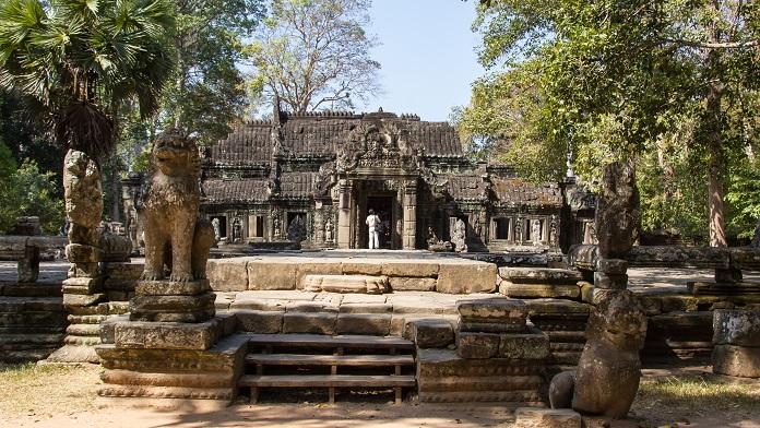 Banteay Kdei Temple Angkor Cambodia