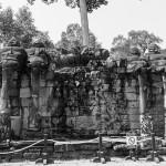 Elephants Terrace Angkor Cambodia