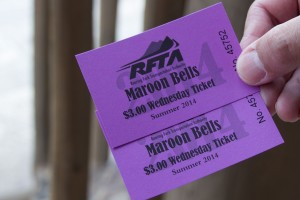 Maroon Bells Entrance Ticket