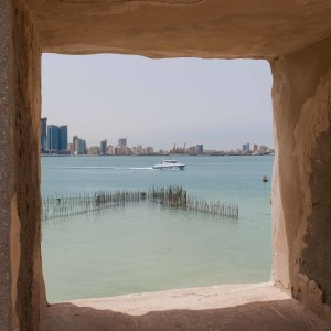 Window at Fort in Bahrain