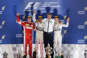 Video: F1 Bahrain Grand Prix 2015 Highlights of the Race Weekend