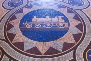 Dunedin Railway Station Mosaic Floor