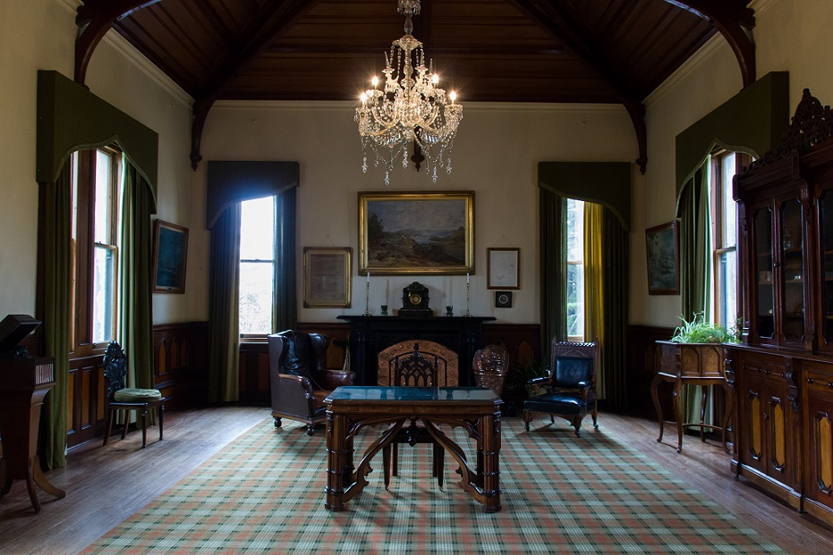 Interior of Larnach Castle