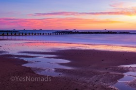 Photo of the week – Sunrise at Aberdeen Beach in Scotland