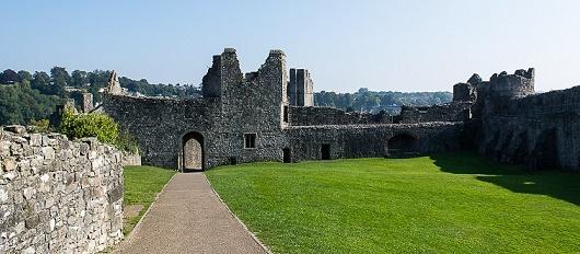 Chepstow Castle Interior