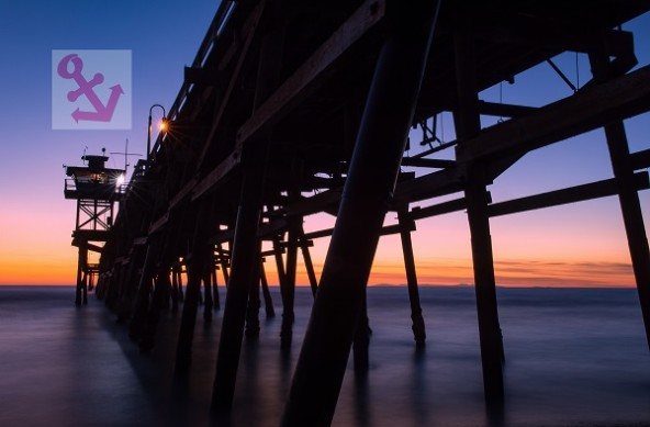 Photo Of The Week – Sunset at San Clemente Pier in California