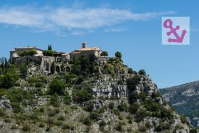 Video: Visit of hilltop village Gourdon in the Provence in France