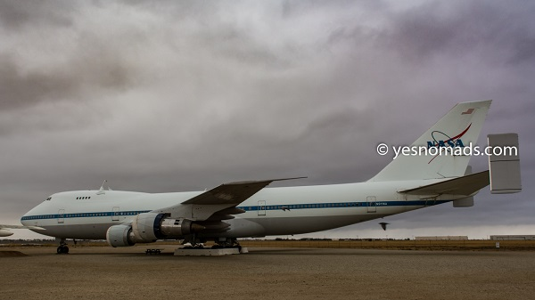 Boeing 747 at Joe Davis Heritage Airpark