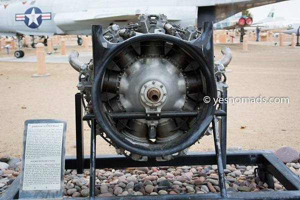Guiberson A/T-1029 Diesel Engine which was used in Aircraft and Tanks in the 1930s - 1940s.