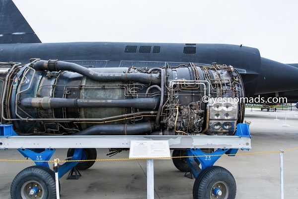 Pratt & Whitney J58 Jet Engine that powered Lockheed A-12 and subsequently the SR-71
