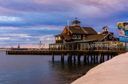 Photo Of The Week – Sunset San Diego Pier Cafe at Seaport Village