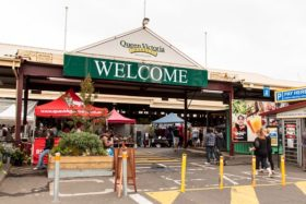 Video: Visit of Queen Victoria Market in Melbourne Australia