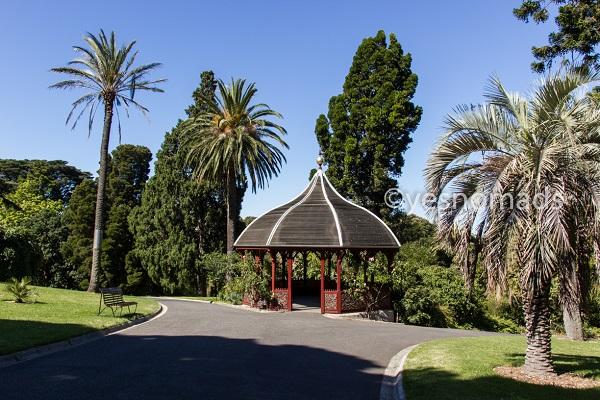 Royal Botanic Gardens in Melbourne in Australia