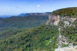 Blue Mountains National Park in Australia