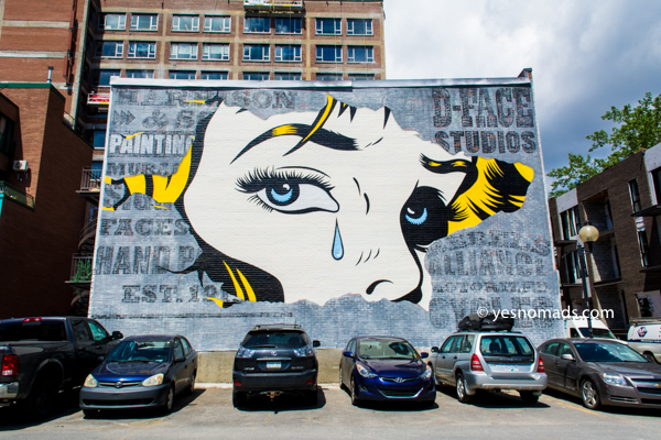 Article: Exploring the best street art in Montreal