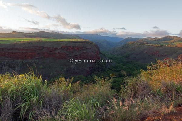 Hanapepe Valley Lookout Kauai Island of Hawaii
