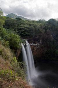 Wailua Falls Kauai Island of Hawaii